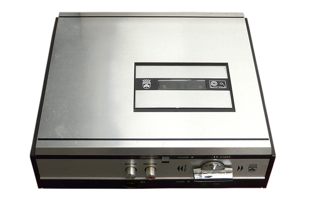 cassette recorder 1963